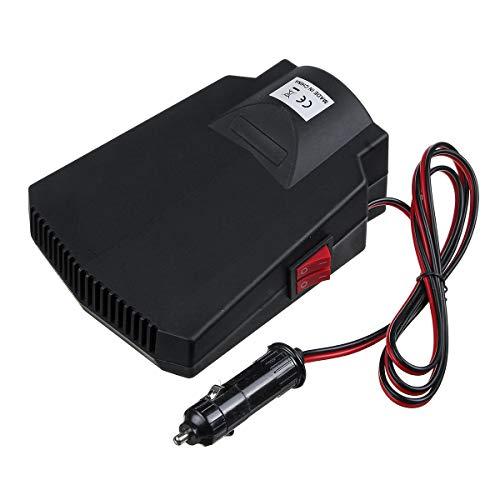 GNY Heizlüfter 12V 200W Leistung Tragbare Auto OK-Heizung Defogging Defroster Auto Windschutzscheibenentfroster