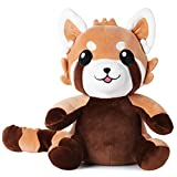 corimori- Ponva el Panda Rojo (6+ Modelos) Animal de Peluche Juguete Bebés...