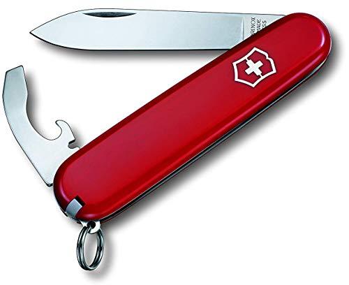 Victorinox Taschenwerkzg.rot in gross Blister Bantam Taschenmesser (8 Funktionen, Kombi-Klinge, Zahnstocker, Pinzette), rot, One Size