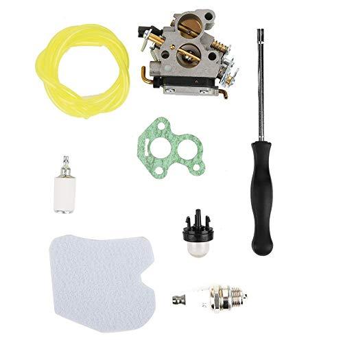 Kit de carburador Reemplazo de carburador Accesorios de motosierra de aluminio fundido a presión para Husqvarna 235 235E 236 240 240E N5A6