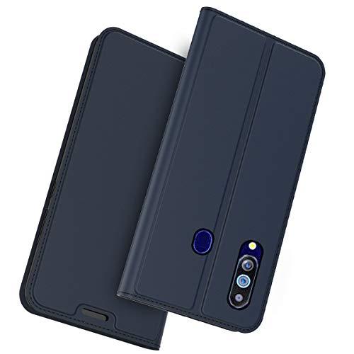 Doveno PU Leder Hülle Ultra Thin Flip Schutzhülle mit Kartenschlitz & Standfunktion Kompatibel mit UMIDIGI A5 Pro (2019)