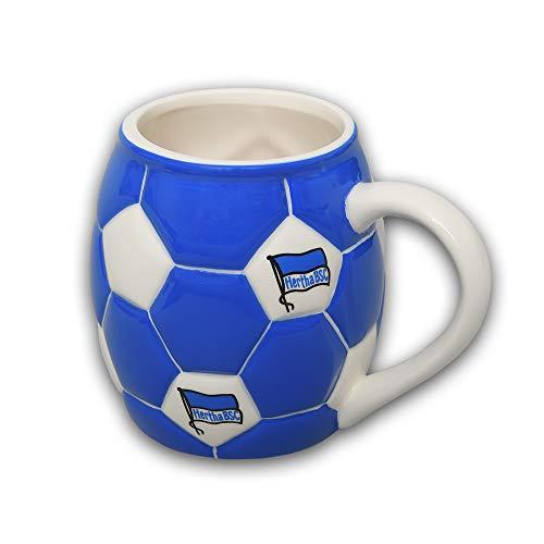 Hertha BSC Berlin Tasse - Fußball - Kaffeetasse, Becher, Mug- Plus Lesezeichen I Love Berlin