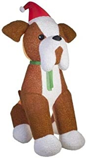 Best french bulldog christmas inflatable Reviews