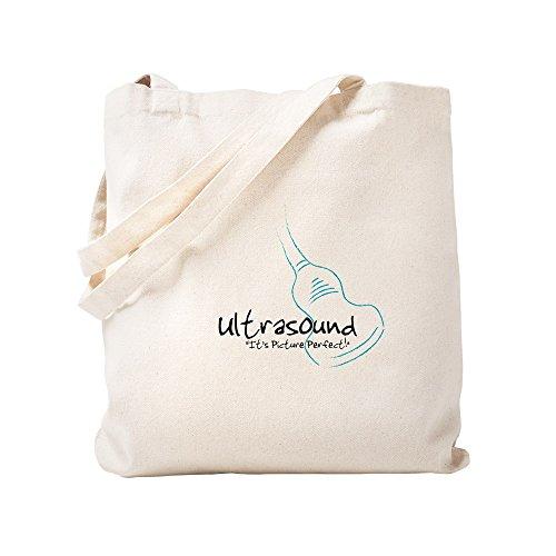 CafePress–Ultraschall Wandler bluegreen–Leinwand Natur Tasche, Reinigungstuch Einkaufstasche Tote S khaki
