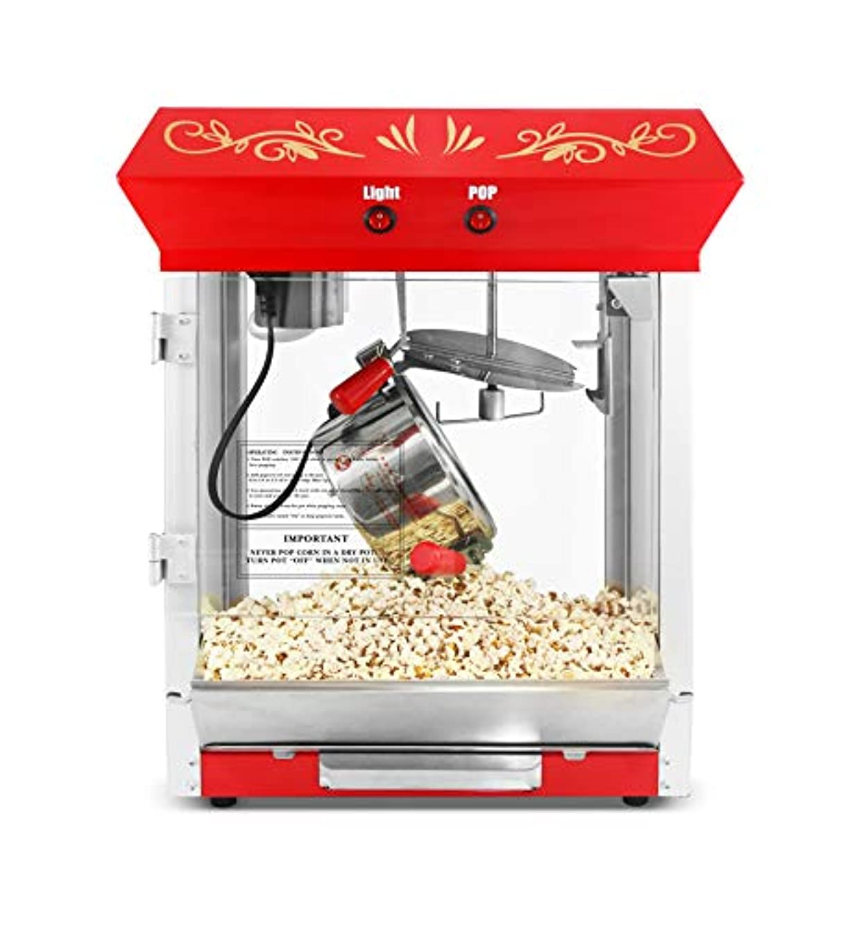 Maxi-Matic Table Top Popcorn Popper, One Size, EPM-487