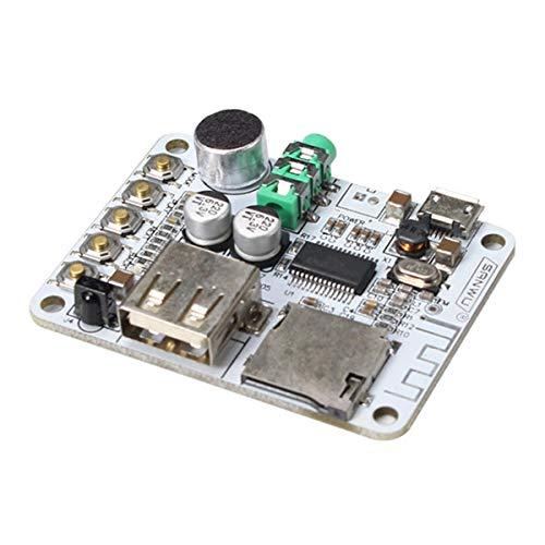 Draadloze Bluetooth Audio Ontvanger Digitale Versterker Board Met Afstandsbediening En Microfoon USB Poort TF Card Slot Motorfiets Deel