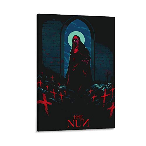 Póster de la lona del suicidio de la monja de DRAGON VINES 20 x 30 cm
