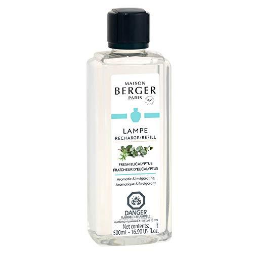 Lampe Berger Ricarica di profumo per ambienti Fraîcheur d'eucalipto, fresco eucalipto, 500 ml