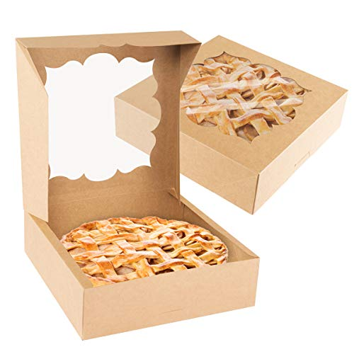 NPLUX 20 Pack Pie Boxes 10x10x3i...