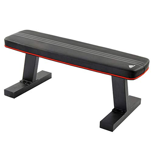 Adidas FM-AD713BK Performance Flat Training Bench, Black