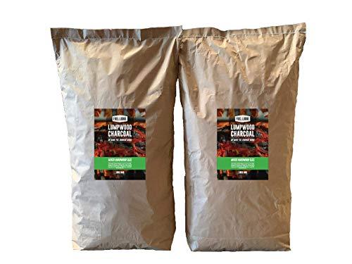Fuel Lodge 20kg Lumpwood Charcoal – Mixed Hardwood Oak, Ash and Hornbeam High Quality BBQ Charcoal