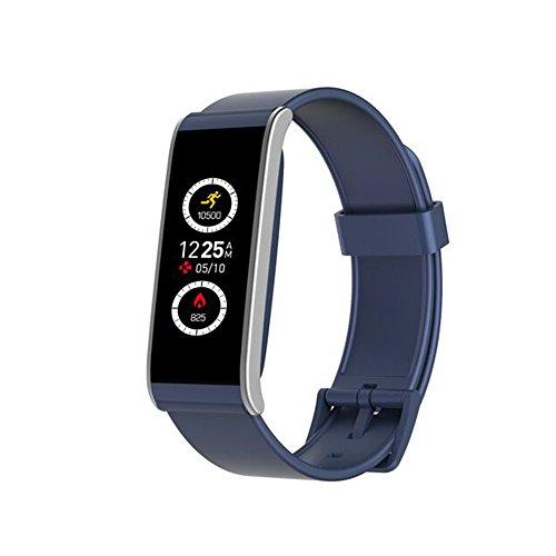 MyKronoz Reloj Inteligente ZeFit 4HR con Sensor cardiaco Azul