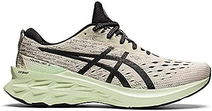 ASICS Men's Novablast 2 Running Shoes, 11.5, Birch/Black