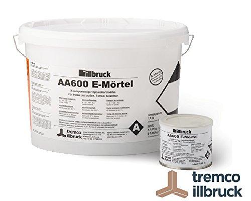 Preisvergleich Produktbild illbruck Epoxidharzmörtel AA600 E-Mörtel 2-Komponenten Mörtel 1, 5 kg