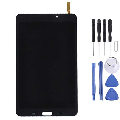 DAIQIPA Smartphone disassembly LCD Display + Touch Panel with Frame, Suitable for Galaxy Tab 4 8.0 / T330 (WiFi Version) (Color : Black)