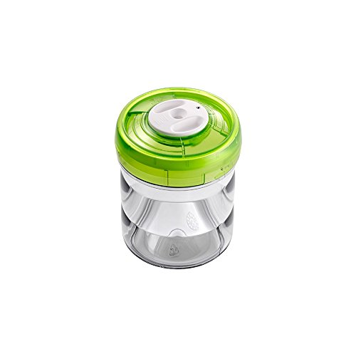 vacSy Vakuum Frischhalte-Box zur Konservierung & Aufbewahrung von Lebensmitteln - Frischhalte Dose mit 0,75 Liter aus Kunststoff