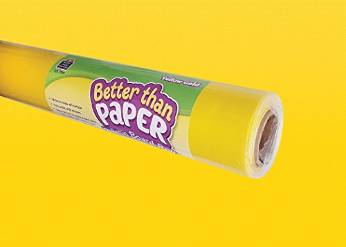 Yellow Gold Better Than Paper Bulletin Board Roll