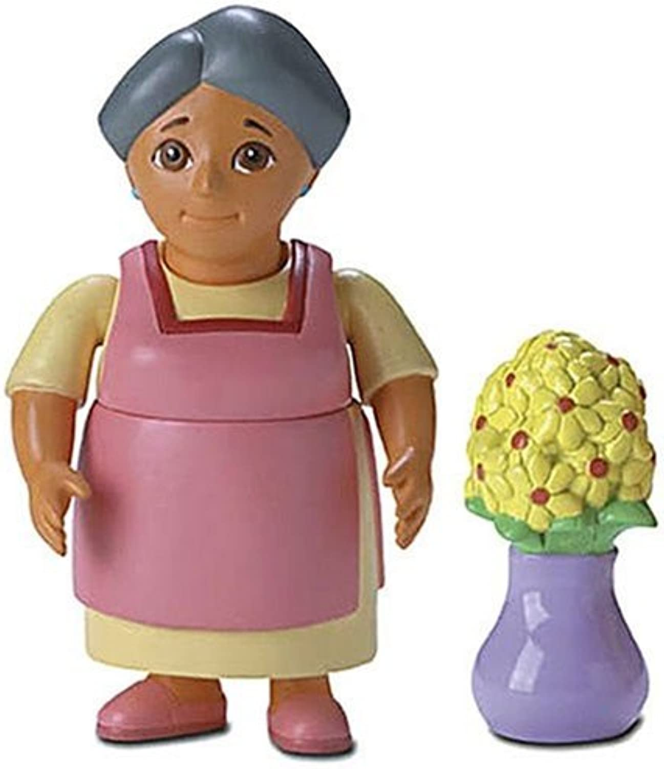 Dora the Explorer  Figures for Dora's Talking Doll House  Abuela with Flowers by Toys