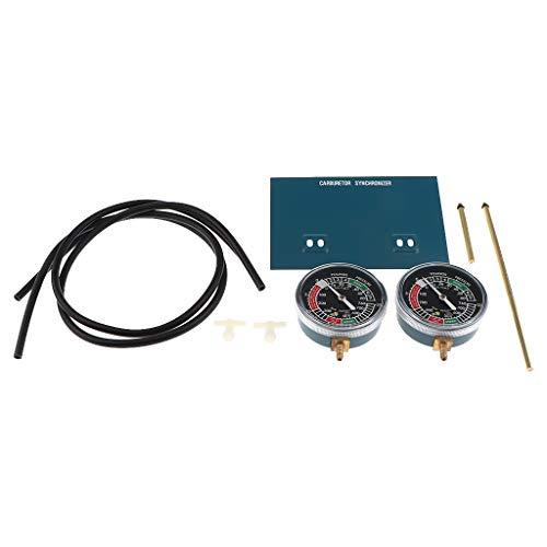 kesoto Sincronización Carburador para Tubos de Vacuómetros Placa Montaje Tubos flexibles