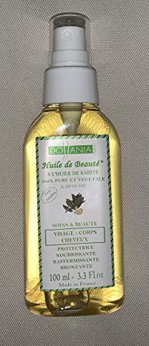 Dollania Huile de Beauté Visage Corps/Cheveux Karité