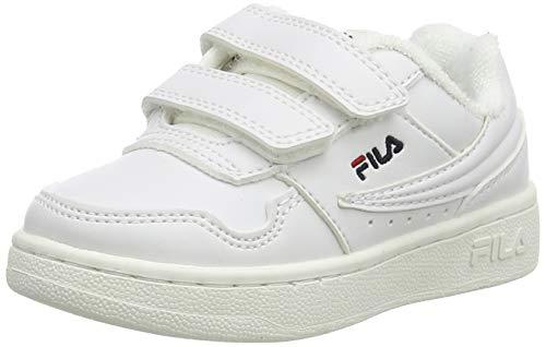 FILA Jungen Unisex Kinder Arcade infants Sneaker, White, 27 EU
