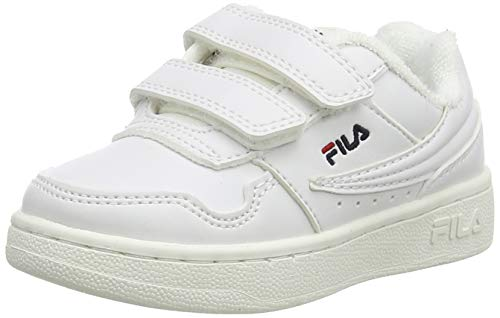 FILA Arcade Velcro S infants Unisex-Baby Sneaker, Blau (Fila Navy/Desert Camo), 25 EU