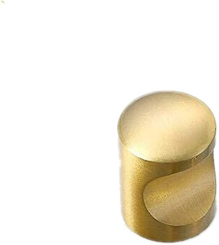 Handle Single Hole Gold Cabinet Knobs And Pulls Door Cupboards Drawers Color Gold Size 20mm