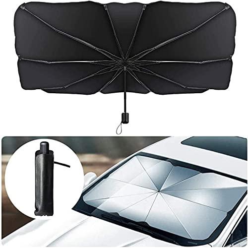Parasol interior para ventana delantera del coche, cubierta