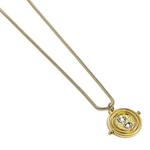 Harry Potter cadena tiempo turner joyería 43-47cm chapado en oro