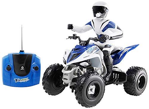 Yamaha raptor 700R full function radiocommandée moto quad cadeau 1:6 bleu
