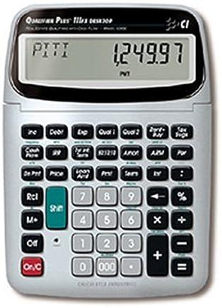 $43 » Calculated Industries 43430 Desktop Qualifier Plus IIIFX DT Real Estate Finance Calculator