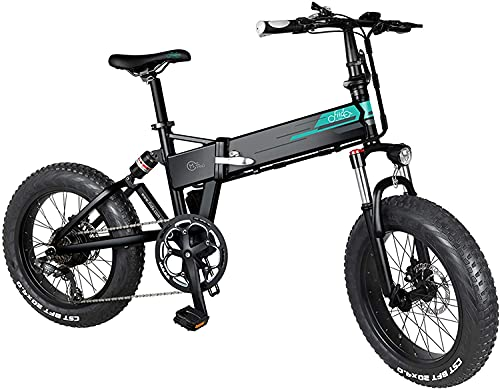 FIIDO M1 Pro Folding Ebike, 20 Inch Electric Bikes for Adults, 48V 500W 12.8Ah Lithium-Ion Battery Mountain Ebike, Max Speed 40km/h, Removable Battery, Received within 5-7 days- Black