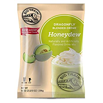 Big Train Dragonfly Blended Crème Frappe Mix Honeydew 3.5 Pound  Packaging May Vary
