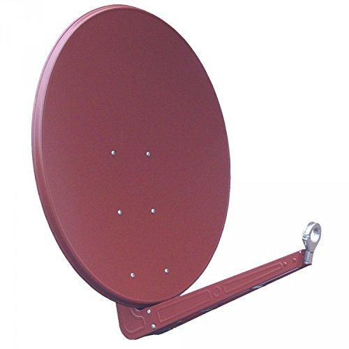 Antenne Gibertini 100cm Alu Ziegelrot SE Serie inkl. Druckgussfeedhalter 40mm NEU
