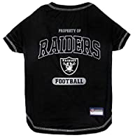 NFL OAKLAND RAIDERS Dog T-Shirt, X-Large. - Cutest Pet Tee Shirt for the real sporty pup