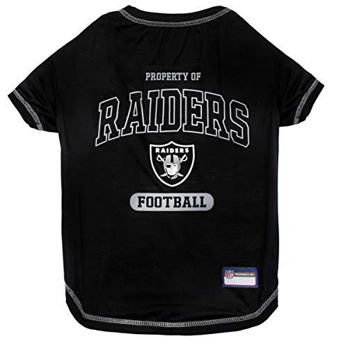 Pets First Oakland Raiders T-Shirt, Medium