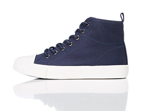 RED WAGON Jungen Hohe Sneaker, Blau, Blau (Navy), 33 EU