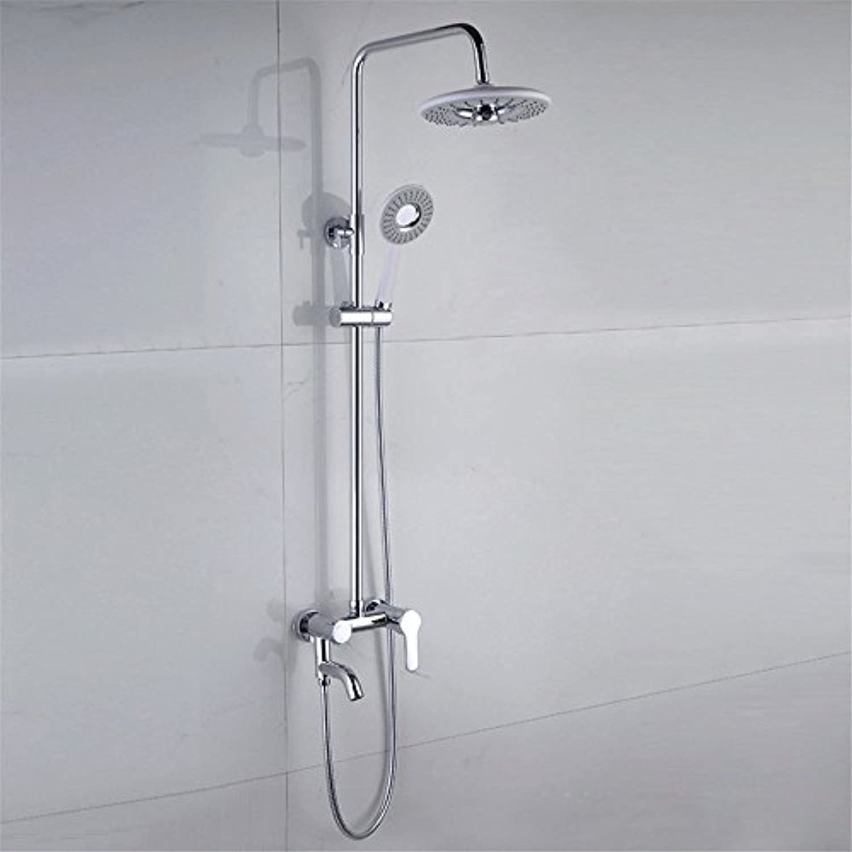 MMYNL Badarmaturen thermostatische Dusche Set Badewanne & Dusche, Dusche Voll Kupfer Wasserhahn