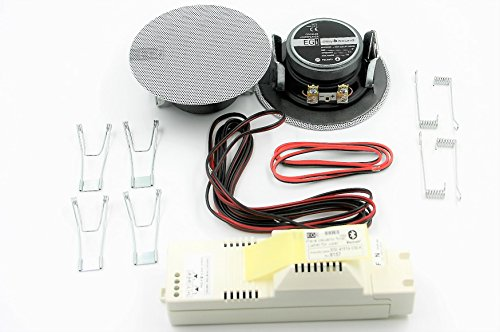 Egi Audio Solutions 41021 inbouw-luidspreker met Bluetooth-versterker, wit