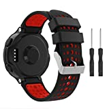 Supore Forerunner 235 Correa Reemplazo Suave Silicona Watch Band Deportiva...