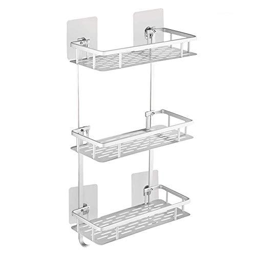 HUIHUAN Estante para baño de 3 niveles Rack de almacenamiento para almacenamiento...