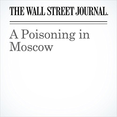 A Poisoning in Moscow copertina