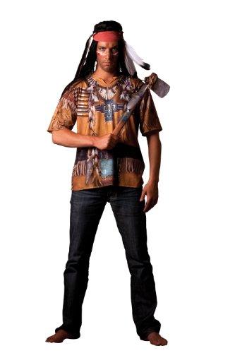 Cesar - B804-004 - Costume - Déguisement - T Shirt Illusion Indien - Taille 58