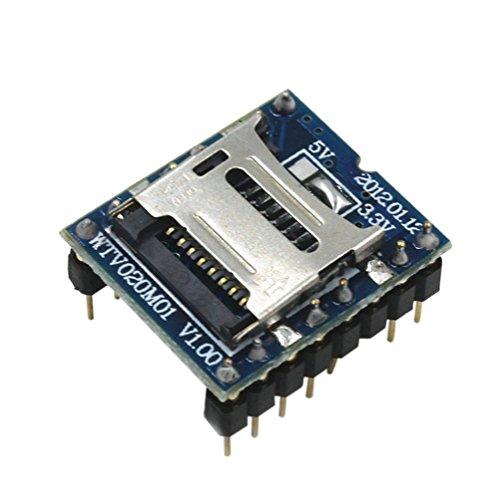 Demarkt WTV020-SD Sprachmodul SD-Karte Sprachmodul Spielkonsole Sprachmodul MP3-Modul