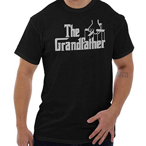 Grandfather Classic Italian Mafia Movie T Shirt Black