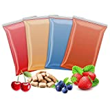 4x 200g Aromazucker | Erdbeere – Kirsche – Bubble Gum - Blaubeere | 4 Sorten Zucker mit Geschmack für Bunte Zuckerwatte / Zuckerwattemaschine | 800 Gramm gesamt | Set Nr. 2