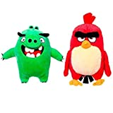ANGRY BIRDS PELUCHE GIGANTE PACK 2 UNID.