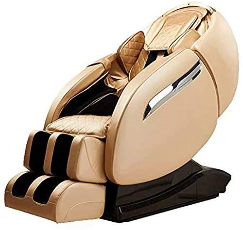 CLOTHES 3D Massagesessel, Einkaufszentrum Anteil Massagestuhl kommerzielles elektrische Funktion Sofa für Hause und Büro (Color : Beige)