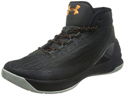 Under Armour - Chaussure de Basketball Stephen Curry 3 Noir Pointure - 41