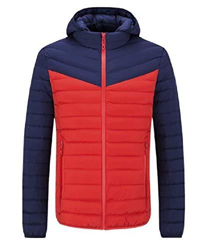 DressUMen Herren athletisch hood trim - fit spell farbe verdicken plus velvet parka-jacke M AS3